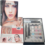 Creative Colours Eyeshadow Eye Up The Day 16 Pc Make Up Gift Set Beauty Book