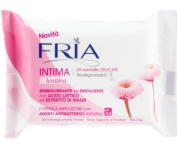 Intimate Wipes Sensitive Biodegradable with Lactic Acid and Mauve 20 pcs