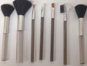 Ardisle 7 x Makeup Brush Set Cosmetic Brushes Make up Kit Blusher Foundation Eye Shadow