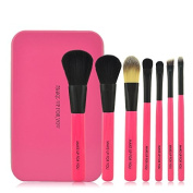 Zonman®7 Pcs/Set Professional Makeup Brushes Set Makeup Tools Cosmetic Brush Kit with Metal Box