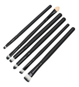Ama-ZODE Cool Makeup Kit 6 Pcs Cosmetics Brushes Set Eyeshadow Eyeliner Smudge Brush Tool