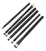 Ama-ZODE Cool Makeup Kit 6 Pcs Cosmetics Brushes Set Eyeshadow Eyeliner Smudge Brush Tool