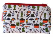 Selina-Jayne Fishing Limited Edition Designer Cosmetic Bag