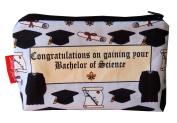 Selina-Jayne Graduation BSc Limited Edition Designer Cosmetic Bag