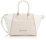Smith & Canova Women's Zara Zip Trim Bowling Bag