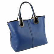 Win8Fong Women's 2 in 1 PU Leather Messenger Bags Tote Shoulder Bag Handbag With Removable Pouch