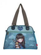 Santoro Gorjuss Hush Little Bunny Handbag Blue
