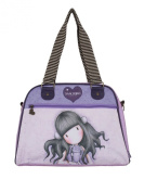 Santoro Gorjuss All These Words Handbag Purple