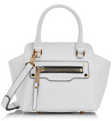 Smith & Canova Women's Creston Small Zip Detail Tote