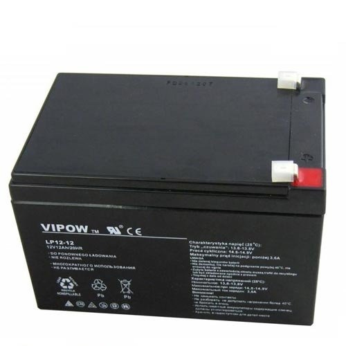 vipow 12v 12ah agm gel battery deep cycle maintenance free. Black Bedroom Furniture Sets. Home Design Ideas