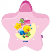 Pink Tomy Starlight Dreamshow Musical Baby Night Light