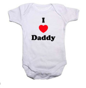 I LOVE DADDY Boys/Girls Baby Grow/Vest Baby Shower Gift
