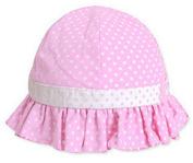 Ama-ZODE New Sweet Cute Baby Girls Children Sun Polka Dot Summer Hats Caps 4 Colours