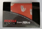 Pentax Supaclean micro fibre cleaning cloth from Hilco - Cat design