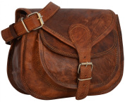 Gusti Leather Genuine Handbag Cross Body Shoulder Bag Everyday Satchel City Party Weekend Festival Bag Vintage Brown M23