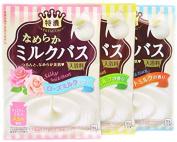 Cow Soap Japan Rich Milk Bath Moisture Bath Powder Set