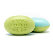 Fab & Co Triple Milled Shea Butter Enriched Dual Scented French Soap - Lemongrass and Sage - 210ml