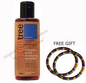 Soultree Wild Aamla, Aloe & Rejuvenating Manjistha Shower Gel 200ml - With FREE GIFT (Pair of Multicolor Bangles) and.