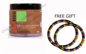 Soultree Hibiscus Hair Conditioner with Shikakai, Henna and Coconut Oil 100g - With FREE GIFT Pair of Multicolor Bangles