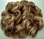 Diamond Style 977 7.6cm Pony Fastener Hair Scrunchie 14-24 Brown-Blonde
