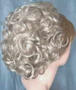 DAWN Clip On Hairpiece by Mona Lisa 56 Grey with 10% Brown