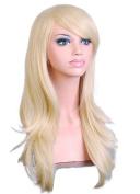 SuperWigy® Hot Sale 70cm Long Big Wavy Friendly Hair Heat Resistant Cosplay Wig+Wig Cap