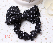 A.H® 2x Funny Cute Girls Rabbit Ear Hair Tie Bands Ponytail Ropes Holder Bracelet