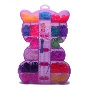Ulike2 DIY Rubber Band Bracelets Loom Kit-15 Colours