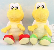 15cm 2 Pcs/set Super Mario Bros Koopa Troopa Plush Anime Doll Stuffed Animals Cute Soft Collection Toy Best Gift for Kids