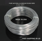 12ga / 15m Aluminium Round Wire (Dead Soft) By Modern Findings