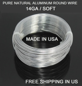 14 Ga / 30m Aluminium Round Wire (Dead Soft) By Modern Findings