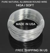 14 Ga / 30m Aluminium Round Wire (Dead Soft) By Modern Findings