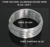 16 Ga / 30m Aluminium Round Wire (Dead Soft) By Modern Findings