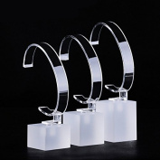 3 Set Wiredrawing Craft Smart Watch Display Stand Watch Holder