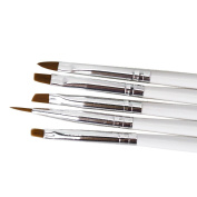 5pcs NEW Finest Sable Porcelain Ermine Brush Pen Equipment