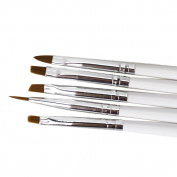 5pcs NEW Finest Sable Porcelain Ermine Brush Pen Equipment