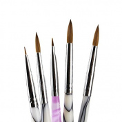 Porcelain Ermine Brush Pen Set Dental Lab Equipment - 5 pcs