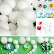 10PCS Modelling Polystyrene Styrofoam Foam Ball Sphere Birthday Decoration Craft 70MM