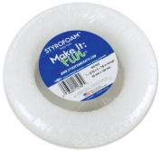 Neww Styrofoam Wreath 13cm - 2.2cm x 3cm 1/Pkg-White New