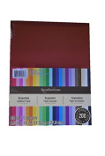 Recollections Cardstock Paper, 22cm X 28cm Essentials 20 Colours - 200 Sheets