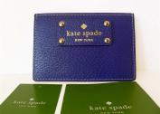 Kate Spade Wellesley Graham Leather Credit Card Case, Blueberry Jam