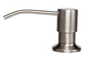 URBEST®380ml Soap Dispenser, Brushed Nickel Pump Head Kitchen Soap Dispenser
