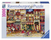 Streets of France 1000 Piece Puzzle