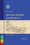Metoda Rubnih Elemenata I [HRV]
