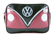 VW LANDSCAPE SHOULDER BAG - RED & BLACK