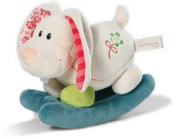 NICI Small My First NICI Rocker Rabbit Tilli Plush Toy