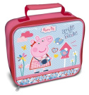 Peppa Pig 'Home Sweet Home' Lunch Bag, Freeze Stick Bottle, Snack Pot and Cutlery Set