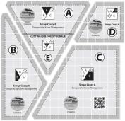 Creative Grids Scrap Crazy 6 Template Set