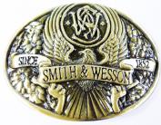 Smith W. Men Belt Buckles Vintage Cowboy Western Metal
