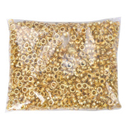 1000 Package #11cm Grommet Machine Grommets & Washers Brass Hand Press Tool Die Eyelet for Tags Bags Curtains Belts Etc